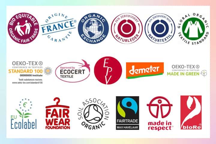 Les labels environnementaux textile