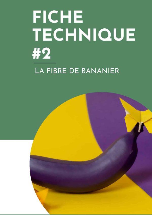 fiche fibre banane