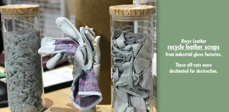 Revaloriser les chutes de cuir issues de gants industriels