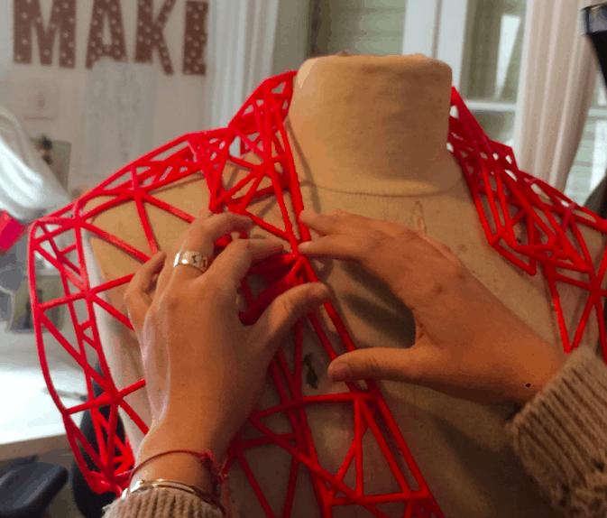 L'impression 3D textile: une solution industrialisable?