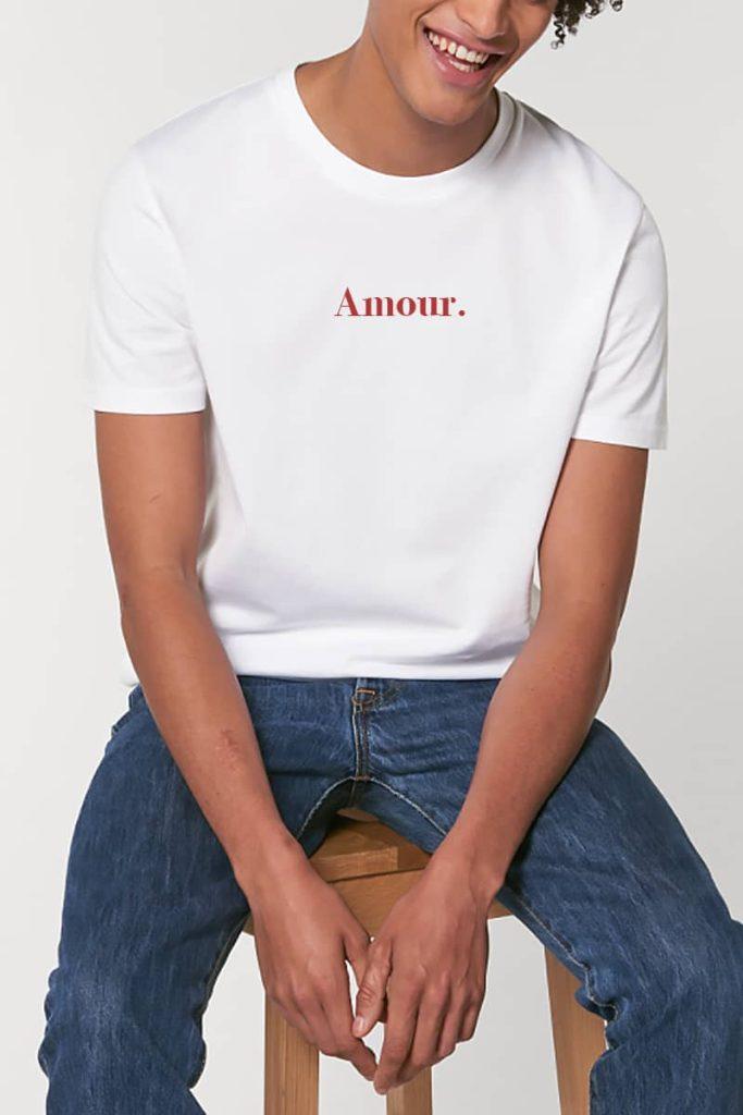 Tee-shirt Amour Rufus Paris
